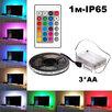 """Лента светодиодная RGB -1м (3*AA)""""Огонек""""(L19) по цене 490₽ - Украшения для организации праздников, фото 0"""