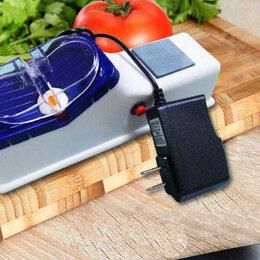 Мусаты, точилки, точильные камни - Электрическая точилка для ножей, ножниц новая, 0