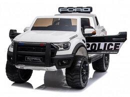 Электромобили - Детский электромобиль Ford Ranger Raptor Police…, 0