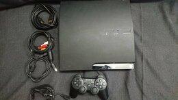 Игровые приставки - Sony PlayStation 3 (PS3) Slim, 0