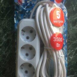Электроустановочные изделия - Удлинитель электрический 5 метров, 0