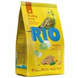 Корма - RIO Корм для волнистых попугаев в период линьки, 0
