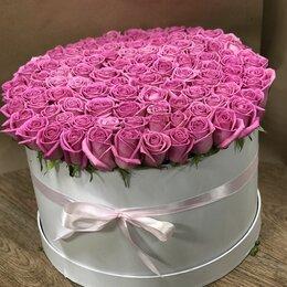 Цветы, букеты, композиции - 101 роза 80 см , 0