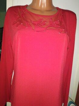 Блузки и кофточки - Новая женская блуза винного цвета 48 размера…, 0