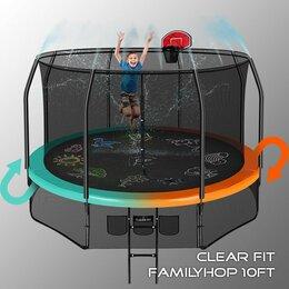 Спортивные игры и игрушки - Батут Clear fit familyhop 10FT (305см), 0