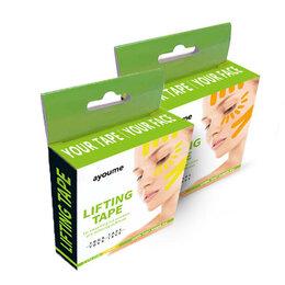 Дезинфицирующие средства - Кинезио тейп для лица Ayoume Kinesiology Tape Roll 1см*5м — желтый, 0