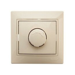 Электроустановочные изделия - Диммер (светорегулятор поворотный) LEZARD MIRA…, 0