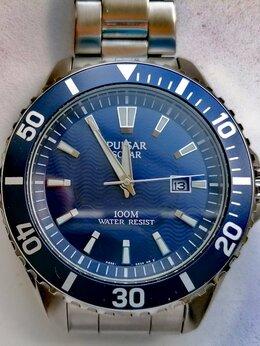 Наручные часы - Часы мужские Pulsar Solar (Seiko) Япония, 0