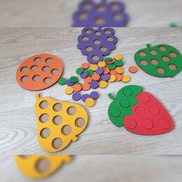 Развивающие игрушки - Развивающая мозайка - фрукты, 0