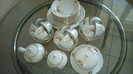 Сервизы и наборы - Сервиз чайный ГДР на 12 персон с подарком, 0
