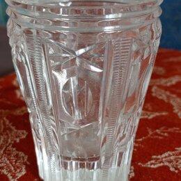 Бокалы и стаканы - Хрустальный стакан СССР, 0
