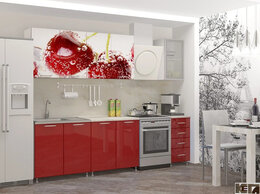 Мебель для кухни - Кухня с фотопечатью Черешня МДФ, 0