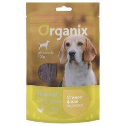 Лакомства  - Organix Dog Duck Fillet / Shredding 100 г, 0