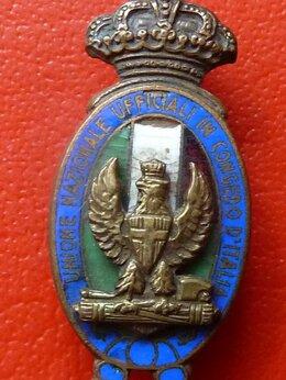 Жетоны, медали и значки - Италия фрачный членский знак Союза офицеров в…, 0