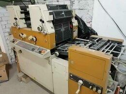 Полиграфическое оборудование - Листовая офсетная печатная машина Rioby 3302, 0