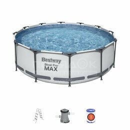 Бассейны - Бассейн каркасный бассейн для дачи, 0