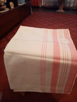 Постельное белье - Простыни льняные 2.10 на 1.50см., 0