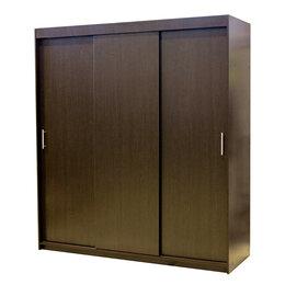 Шкафы, стенки, гарнитуры - Шкаф-купе Уют 180х60х200 см Венге, 0