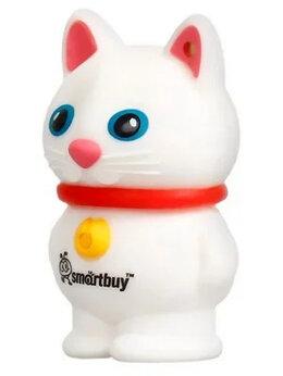 USB Flash drive - Подарочная USB-флешка Smartbuy 16GB Белый кот…, 0