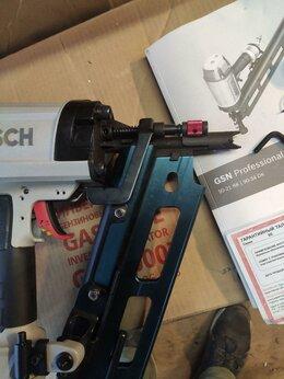 Пневмопистолеты - Пневматический гвоздезабиватель Bosch GSN 90-21 RK, 0