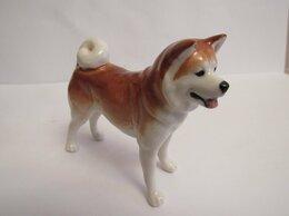 Статуэтки и фигурки - Акита-ину собака фигурка фарфор новая, 0