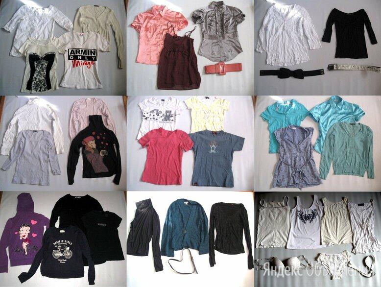 9 пакетов женской одежды р.42-44 по цене 600₽ - Блузки и кофточки, фото 0