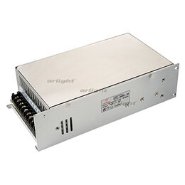 Блоки питания - Блок питания HTS-600M-24 (24V, 25A, 600W) (ARL, IP20 Сетка, 3 года), 0