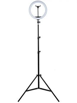 Осветительное оборудование - Кольцевая Лампа RGB MJ26 26см, 0