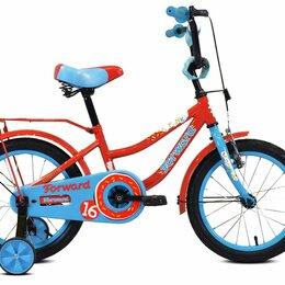 """Обувь для спорта - Детский велосипед Forward Funky 16"""" красный/голубой, 0"""