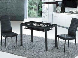 Столы и столики - Стол обеденный черный, 100*60, 0