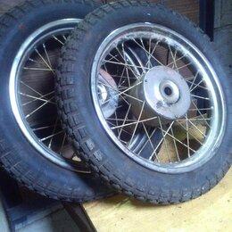 Шины, диски и комплектующие - Колеса для мотоцикла, 0