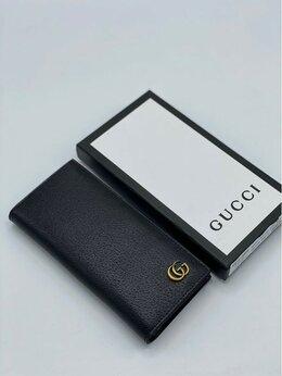 Кошельки - Кошелек Gucci кожа черный женский новый, 0