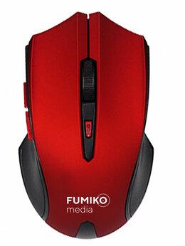 Мыши - Мышь беспроводная FUMIKO WM02 красно-черная, 0