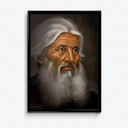 Рисование - Отец Сергий картина 30х40 к.м. Орлов И.Н.., 0