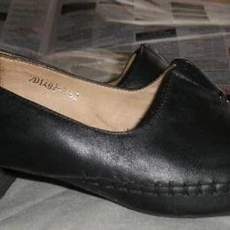 Туфли - туфли р.42 City Girl  бу нат. кожа , 0