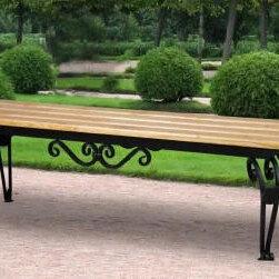 Скамейки - Скамейка садовая (парковая) кованая СкФ, 0