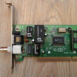 Сетевые карты и адаптеры - Сетевая карта 10Base-T (раритет) 10 Мбит/с, 0