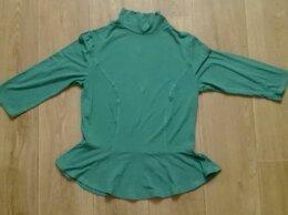 Блузки и кофточки - Кофточка с баской р.46, 0