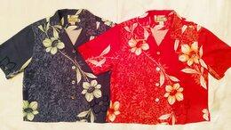 Блузки и кофточки - Гавайские рубашки,шёлк , размер М,L, 0