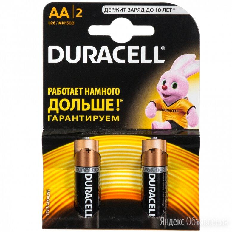 Батарейки пальчиковые duracell 2шт по цене 180₽ - Аккумуляторы, фото 0