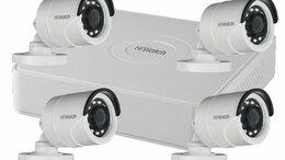 Готовые комплекты - Видеонаблюдение на 4 камеры (HD-TVI), 0