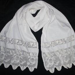Скатерти и салфетки - Старинный рушник с вышивкой и монограммой,…, 0