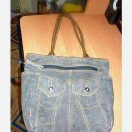 Сумки - Джинсовая сумка, 0