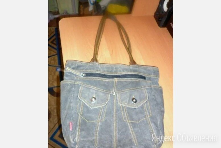 Джинсовая сумка по цене 350₽ - Сумки, фото 0