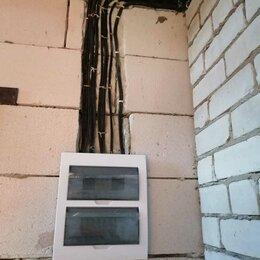 Архитектура, строительство и ремонт - Электромонтажные работы, перенос розеток, выключатeлей, установка люстр, , 0