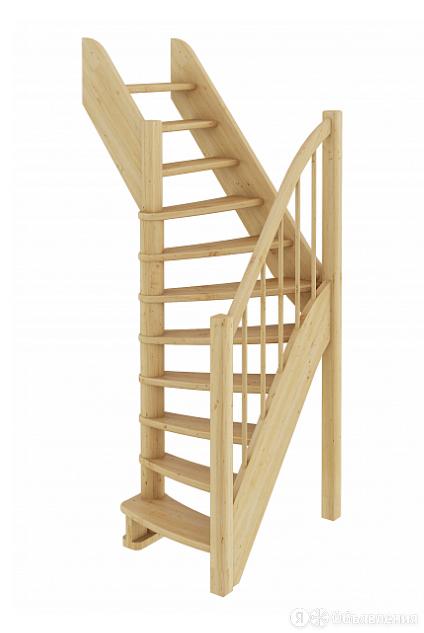 Лестница ЛС-91м без подступенков Л бук по цене 48983₽ - Лестницы и элементы лестниц, фото 0