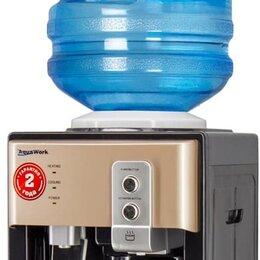 Кулеры для воды и питьевые фонтанчики - Кулер для воды Aqua Work 19-TD черный-золотой, 0