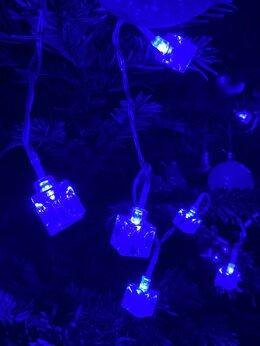 Новогодний декор и аксессуары - Гирлянда леденцы 2 метра новая, 0
