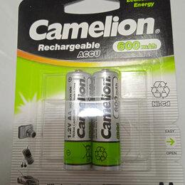 Аккумуляторы и зарядные устройства - Продаю аккумуляторы Camelion(Robiton) AA (R6) (пальчиковые)600mAh Ni-Cd., 0