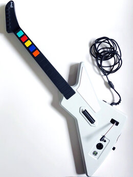 Игровые приставки - Гитара Guitar Hero RedOctane X-Plorer (Xbox360), 0